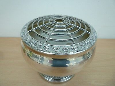 Vintage  Silver Plated Rose Bowl/posy Bowl