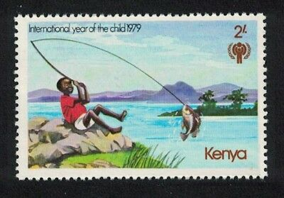 SALE Kenya Fishing International Year of the Child 1v MNH SG#148 FREE POSTAGE