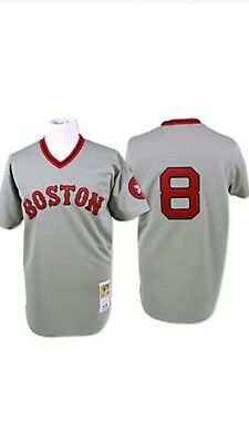 the latest 8a387 b4938 discount code for boston red sox retro jersey 9c16d 90ca7