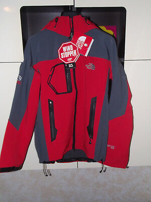 THE NORTH FACE giubbotto giacca - gore tex - wind stopper - rossa - NUOVA! 89f8f553d366