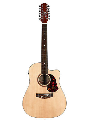 Maton SRS70C-12 Road Series Acoustic Electric Guitar w/Case - Natural Satin