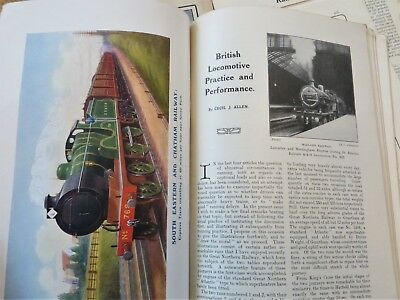 1914/15 railway magazines 11 copies pre grouping illustrations photos reference