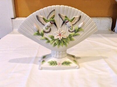 Flower Bird Porcelain Collection Seymour Mann M Bernini Collectable