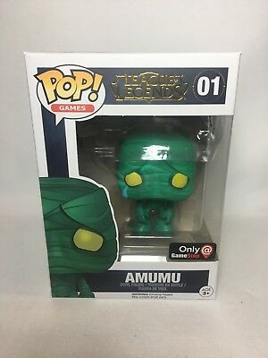 League Of Legends Amumu Funko Pop! #01 - Gamestop Exclusive