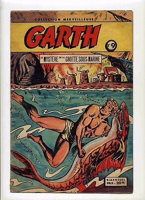 Garth n°9 Collection Merveilleuse 1949 Ed. SAGE TBE