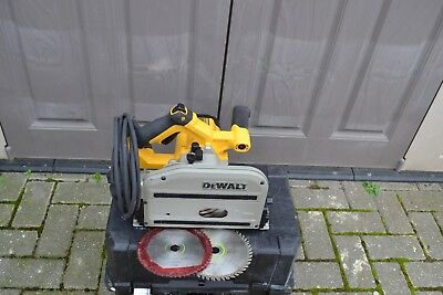 DEWALT DWS520-GB, 230v, Heavy-duty Variable speed Plunge Saw  ,Type 3 + 2 blades