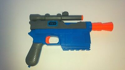 Star Wars HAN SOLO NERF Gun Blaster Fully working Cosplay Modify Cos Play