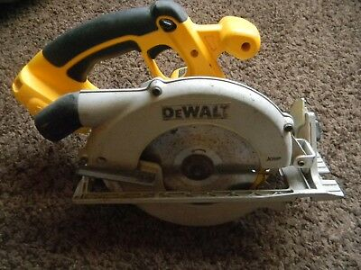 Dewalt DC390 18v  Cordless Circular Saw With Blade