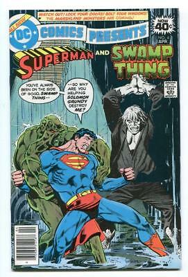 Dc Comics Presents #8 - Return Of Solomon Grundy - Swamp Thing - Superman - 1979