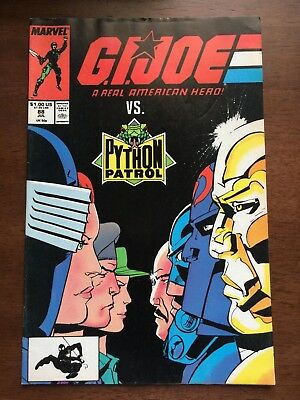 GIJoe A Real American Hero 88 Marvel Comics 1989 VF Destro Snake-Eyes Cobra