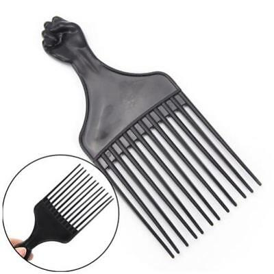 Men Women Salon Plastic Cutting Hair Tooth Comb Barber Hairdressing Tool H