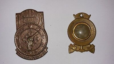 Vintage 1930's Tom Mix Ralston Straight Shooters Gun Decoder & Gold Ore Badges