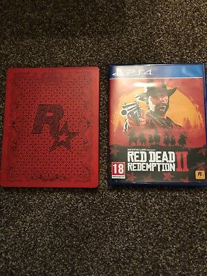 Red Dead Redemption 2 - Limited Edition Steel Book (Sony PlayStation 4, 2018)