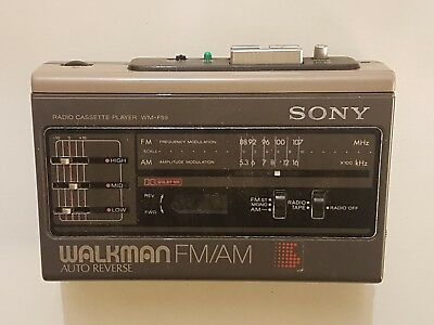 Sony WM-F59 Kassette Radio Walkman,  Autoreverse, defekt