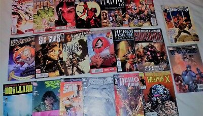 20 assorted Marvel/DC and Related magazines (lot 5)