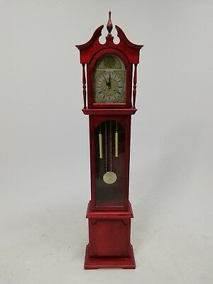 Red Grandmother Clock