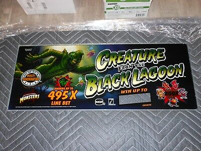Creature From the Black Lagoon, Slot Machine, Black Glass