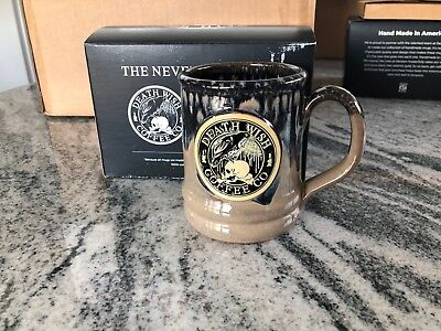 Death Wish Coffee Mug - Nevermore Edgar Allen Poe - 3 available