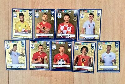 9 Different Panini Adrenalyn XL Fifa 365 2019 World Cup Heroes Trading Cards