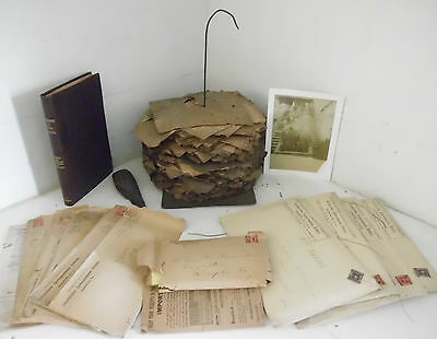 Coal Miner Pay Stubs & Documents 1896-1933 Antique Mining Collection Lykens PA