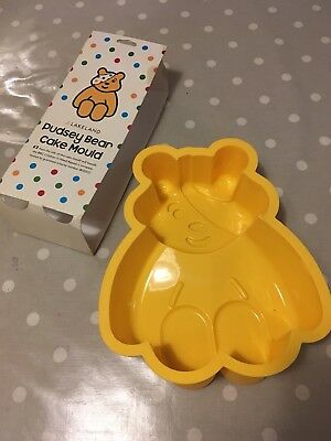 Children In Need Large Pudsey Bear Cake Mould By Lakeland. Never Been Used.