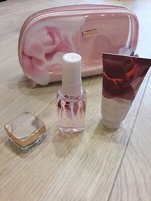 Ted Baker Little Luxuries Bag - Lip Balm/body Spray/body Lotion - New