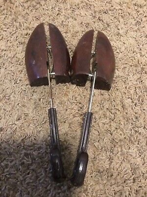"Pair of Vintage Wooden Shoe Stretcher ""12"""