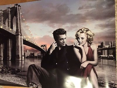 Marilyn Monroe And James Dean Poster Print 24x36 899 Picclick