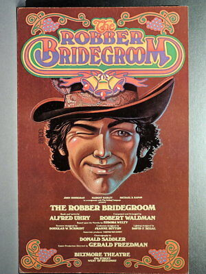 "TRITON offers Orig 1976 B'way Poster THE ROBBER BRIDEGROOM musical ""as-is"" sale"