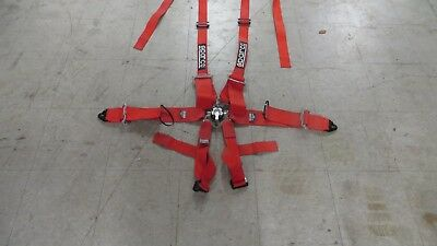 Good used Sparco sedan/GT car 6 point seat harness