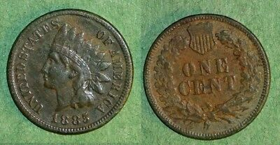 1885 Indian Cent Green Patina!!