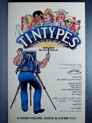 TRITON offers Original 1980 Broadway Poster TINTYPES musical *sale""
