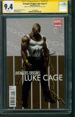 Luke Cage 1 Avengers Origins CGC SS 9.4 Mike Colter remark Defenders TV Show