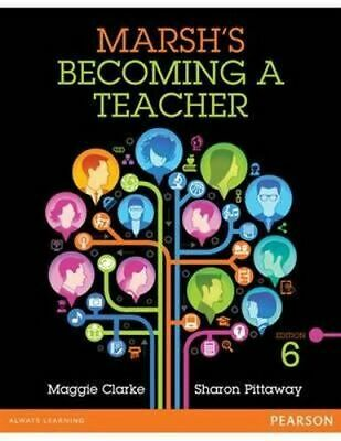 NEW Marsh's Becoming a Teacher By Maggie  Clarke Paperback Free Shipping