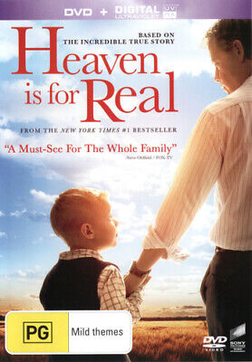 NEW Heaven is for Real (DVD/UV) DVD Free Shipping