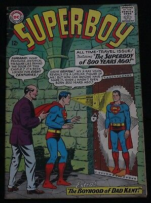 Superboy #113 (1964) Time Travel Issue