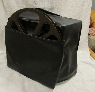 Bell & Howell Filmosound 16mm Movie Projector Pleather Case And Take Up Reel