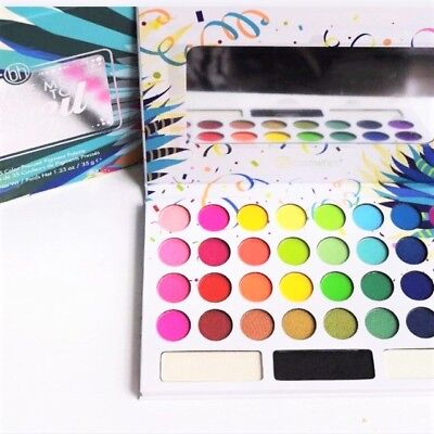 NEW BH Cosmetics Take Me Back To Brazil 35 Colours Pressed Eyeshadow Palette 35g