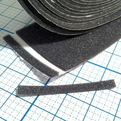 """4""""x3/8"""" Adhesive Backed Foam Pads - Sold In 2 Foot Increments"""