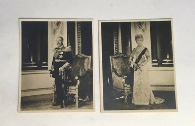 Silver Jubilee 1935 Official Portraits Of The King & Queen, Tuck's