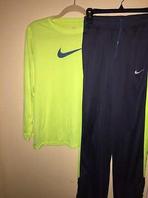 Nike Youth Boys Mixed Lot Long Sleeve T Shirt & Sweat Pants Size Extra Large XL