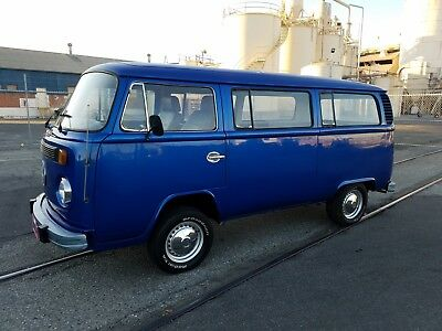 "1974 Volkswagen Bus/Vanagon  1974 VW PASSENGER BUS TRANSPORTER ""Worldwide Bidding Accepted"""