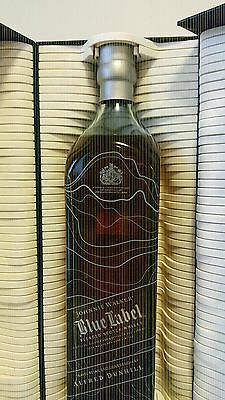 Johnnie Walker Scotch Whisky Blue Label Alfred Dunhill! 700ml! Rare!