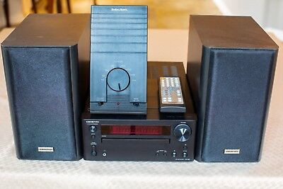 Mint Onkyo Cs-445 Am/fm/cd/mp3 Mini Hi-Fi Audio System With Built-In Ipod® Dock