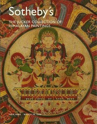 SOTHEBY'S HIMALAYA TIBET NEPAL PAINTINGS JUCKER COLLECTION Auction Catalog 2006