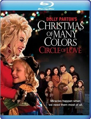DOLLY PARTON'S CHRISTMAS OF MANY COLORS CIRCLE OF LOVE New Sealed Blu-ray MOD