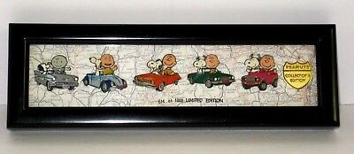 Peanuts-Snoopy & Charlie Brown 1950's-1990's cars -Limited Edition 6 pc. Pin Set