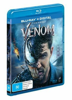 NEW Venom (2018) (Blu-ray/Digital) Blu Ray Free Shipping