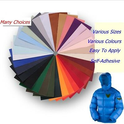 Self-Adhesive Nylon Repair Patch Applique For Tent/Clothes- Various Sizes&Colors