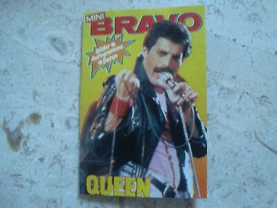 QUEEN Freddie Mercury MINIATURE vintage 1981 special cover magazine Bohemian